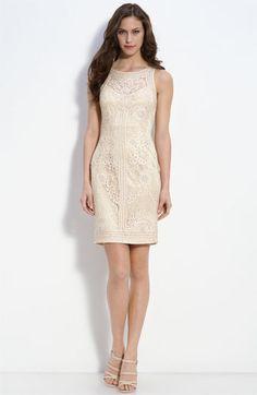 Sue Wong lace dress