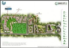 Galaxy Royale is satiuated in Noida Extension, It is nearby gaur city-2, Galaxy Royale Gc-2 noida extention Location Map.