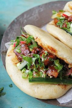 Nisha Thomas shares the secret of how to make gua bao buns - the pork-belly stuffed Taiwanese street food buns.