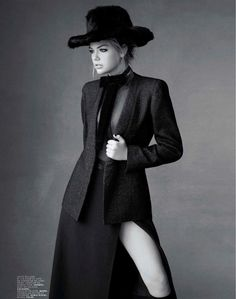 Kate Upton Dons Classic Refinement for the Jalouse October 2012 Cover Shoot