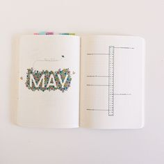 "724 Likes, 19 Comments - Nina's Bujo (@ninasbujo) on Instagram: ""Hello May . . . #bulletjournal #bujo #bujoinspo #bujojunkies #bujolove #bujomonthly…"""