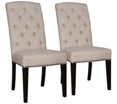 Set of 2 Maddy Birch Dining Chairs | 55DowningStreet.com