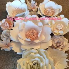 Ready to ship out for a photo shot in Dallas! In love with the blush! #paperflowers #gillumeventsanddesigns