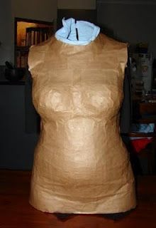 Make your own dressmaking form.