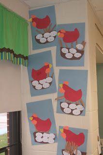 The Little Red Hen and short e craftivity (short e words on eggs)