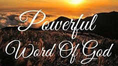 Powerful Word Of God - Healing From God Is Available Powerful Words, Word Of God, Company Logo, Mindfulness, Healing, Neon Signs, Logos, Pastor, Strong Words