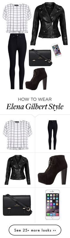 """Elena Gilbert. New style."" by katerina-greine on Polyvore"