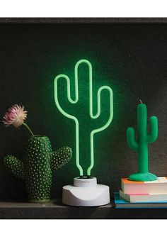 Buy Cactus Neon Light - Large online and save! Cactus Neon Light – Large This Cactus will shine bright in neon. Make any corner of your space a little showier with these Vegas inspired lights.