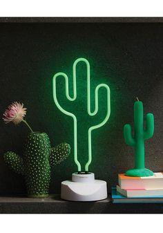 Cactus Neon Light - 49 //SunnyLife The Bright Stuff