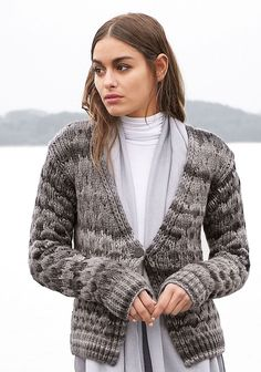 Lana Grossa JACKE Alta Moda Cashmere 16 degradè - FILATI CLASSICI No. 11 - Modell 16 | FILATI.cc WebShop