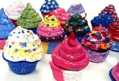 Art with Ms. Gram: Clay Cupcakes (5th)