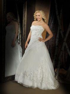 Cheap Allure Wedding Dresses - Style W206-HuLu