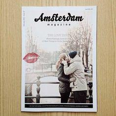 Amsterdam Magazine Cover Redesign (Feb. '12) - The Love Issue