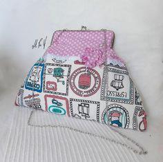 BOLSO PIN UP Bolso con un estilo muy kawaii, y con un estampado retro .Diseño exclusivo de Hadas Pin Up que encontraras en www.hadaspinup.com #bag #bolso #pinup #retro #rockabilly  1 guardado