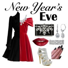 """New Years Eve Party♡Red Pop♡Art Deco Accessories"" by emmadaigle on Polyvore featuring Emilio De La Morena, Celeste, Judith Leiber, BERRICLE, Stella & Dot, Bling Jewelry and TheBalm"