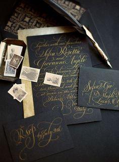 awesome 51 Creative DIY Halloween Themed Wedding Invitation Ideas  http://lovellywedding.com/2017/09/30/51-creative-diy-halloween-themed-wedding-invitation-ideas/