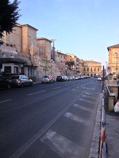 The wall of Macerata