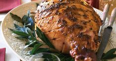 Create a sweet and spicy tradition this Christmas with this beautiful glazed ham.