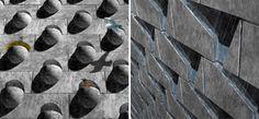 architectural surface materials - Google Search Concrete Masonry Unit, Precast Concrete, Concrete Blocks, Bricks, Loom, Surface, The Unit, Cool Stuff, Google Search