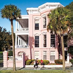 Charleston's Murray Boulevard. I've heard Charleston is a lot like Savannah, Ga. I'd like to visit just to see if it even compares!