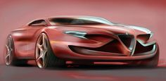 Quick projects, sketches by Brian Males, via Behance