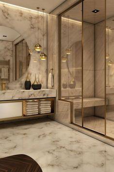 Modern Room, Modern Bathroom, Luxury Interior, Modern Interior, Modern Luxury, Design Rustique, Bathtub Decor, False Ceiling Bedroom, Luxury Homes Dream Houses
