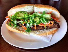 San Diego's Essential Cheap Eats Tostadas, Tacos, San Diego Restaurants, Cheesesteak, Salmon Burgers, Hamburger, Cravings, Vox Media, Media Logo