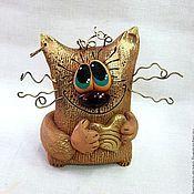 Куклы и игрушки ручной работы. Ярмарка Мастеров - ручная работа Влюблённый кот. Handmade.