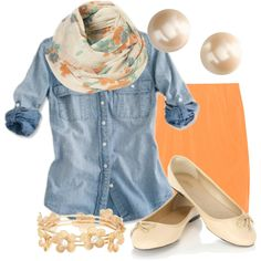 @Franziska Hasselhof okay...I'm officially coming around to chambray -- this is fabulous.
