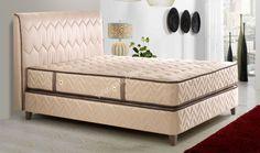 Konfor Karyola #karyola #baza #yatak #bedroom #bed  http://www.yildizmobilya.com.tr/