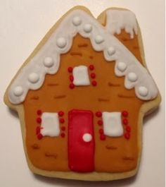 Ginger Bread House Cookie