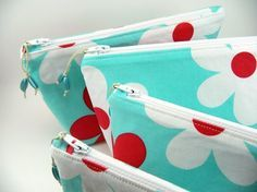 aqua and red bags - Google Search