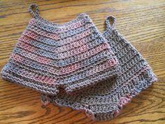 Crochet Potholder Panty and Shorts