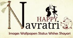 Happy Navratri Images Wallpapers Status Wishes Shayari - Navratri is an hindu festival celebrated every year for 9 days at time of autumn. #hindistyle #navratri #images #wallpapers #happynavratri #Maadurga