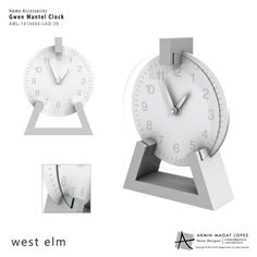 Mantel Clock from Armin Magat Lopez - Work