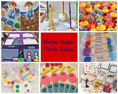 Do you have a budding artist in your family who just loves to get their art on? Check out these fabulous Mister Maker party ideas