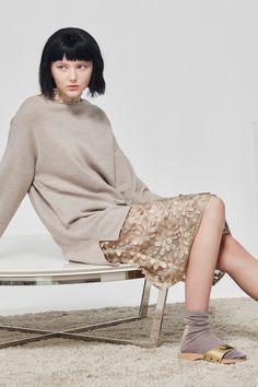 Kate Sylvester - Mrs Mia Wallace: Claudia Jumper, Pola Midi Dress, Lurex Socks
