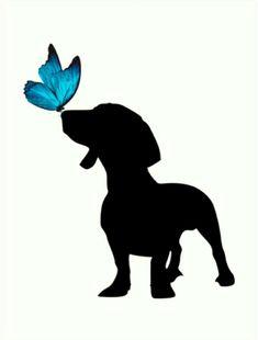 Glorious Diverse Dachshund Breed Tips And Ideas Dachshund Tattoo, Dachshund Breed, Arte Dachshund, Dachshund Love, Daschund, Most Popular Dog Breeds, Weenie Dogs, Dog Memorial, Dog Tattoos