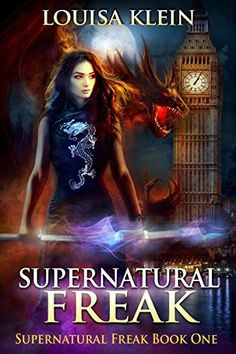 Supernatural Freak by Louisa Klein | reading, books, books covers, cover love, big ben