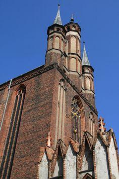 Church of St. Mary    Toruń, Poland.