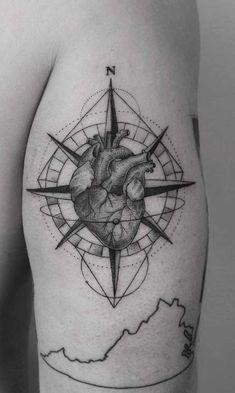 Girl Back Tattoos, Top Tattoos, Tatoos, Snow Flake Tattoo, Big Tattoo, Piercings, Beautiful, Compass, Dreams