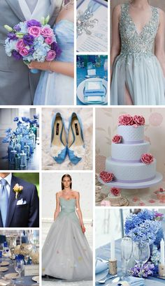 A Cor Pantone do Ano 2016: Serenity - Inspirações de Casamento / Pantone Color of the Year 2016: Serenity - Wedding Inspiration