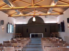 Interior da Igreja em Inhotim
