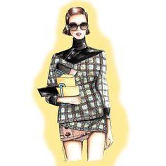 #Buongiorno e buona domenica! Deliziosi #occhiali da sole firmati @Prada, in questa giornata che si preannuncia splendida! . . #fashionillustration #illustration #fashionsketch #sketch #fashiondraw #art #digitalart #draw #drawing #moda #bozzetto #watercolor #bag #shoes  #accessories#sunday # #instaart #instafashion #glasses #sunglasses #prada #drawoftheday #style #me #giovannasitran www.theglampepper.com