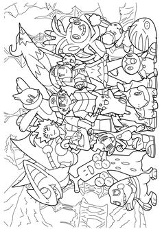 Pokemon diamond pearl coloring pages                                                                                                                                                                                 More