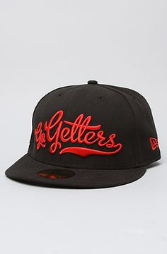 The Go Getters New Era Cap in Black by DGK 7 3/8