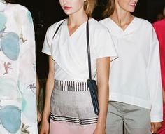 One Shoulder, Blouse, Tops, Women, Fashion, Moda, Fashion Styles, Blouses, Fashion Illustrations