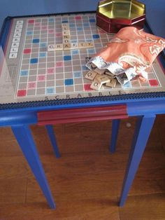 Scrabble Table | Flickr - Photo Sharing!