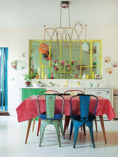 Interior stylist Selina Lake shows how to give homespun style a modern twist for a look that's quirky, colourful and gloriously eclectic. Photo Debi Treloar