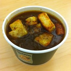 French Onion Soup @ Panera Bread (1 Cup)-200 cals, 20g net carbs.